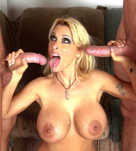 MILF Holly Halston Gets Two Loads of Cum