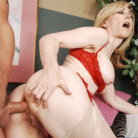 Anal with nina hartley