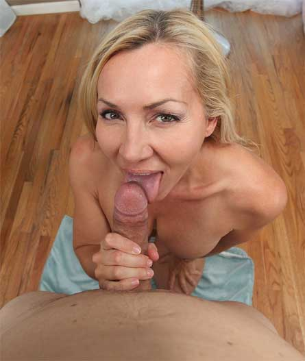 Mature Milf Blowing Cock
